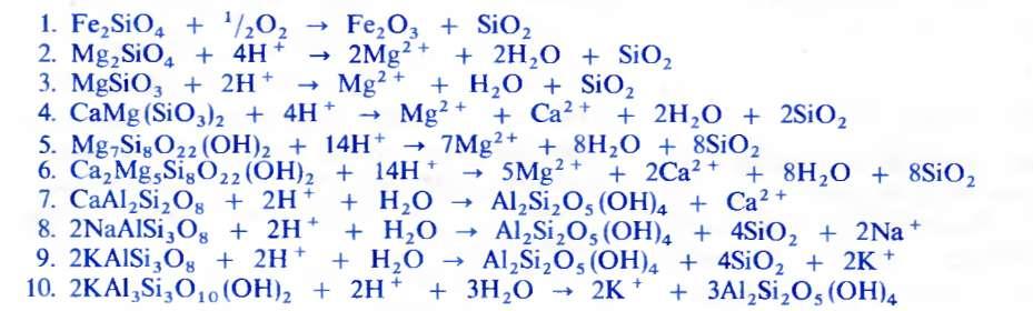 Таблица 1.3. а) Уравнения